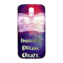 Imagine  Dream  Create  Samsung Galaxy S4 I9500/i9505  Hardshell Back Case