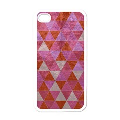 Tricolor Apple Iphone 4 Case (white) by ILANA