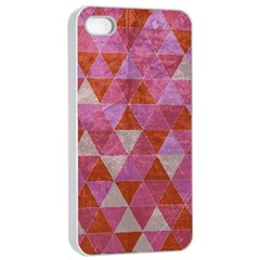 Tricolor Apple Iphone 4/4s Seamless Case (white) by ILANA