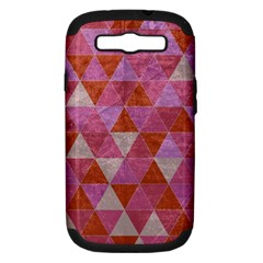 Tricolor Samsung Galaxy S Iii Hardshell Case (pc+silicone) by ILANA