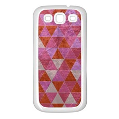 Tricolor Samsung Galaxy S3 Back Case (white) by ILANA