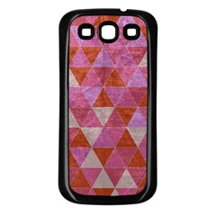 Tricolor Samsung Galaxy S3 Back Case (Black) by ILANA