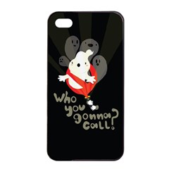 Who You Gonna Call Apple Iphone 4/4s Seamless Case (black) by Contest1771913