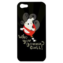 Who You Gonna Call Apple Iphone 5 Hardshell Case