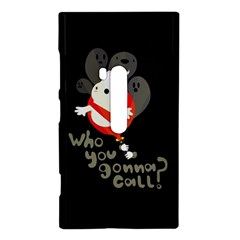 Who you gonna call Nokia Lumia 920 Hardshell Case  by Contest1771913