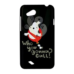 Who you gonna call HTC T328D (Desire VC) Hardshell Case by Contest1771913