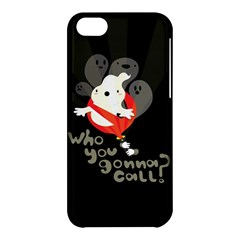 Who You Gonna Call Apple Iphone 5c Hardshell Case by Contest1771913
