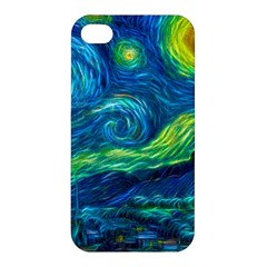 Starry Night Apple Iphone 4/4s Premium Hardshell Case by Contest1775858a