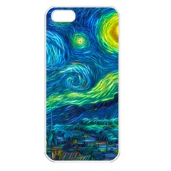 Starry Night Apple Iphone 5 Seamless Case (white) by Contest1775858a
