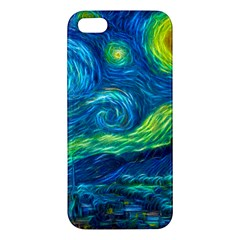 Starry Night Iphone 5 Premium Hardshell Case by Contest1775858a