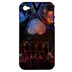 Third Eye Cosmic Apple Iphone 4/4s Hardshell Case (pc+silicone) by Contest1775858a