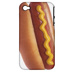 Hotdog Apple Iphone 4/4s Hardshell Case (pc+silicone) by Contest1775858a