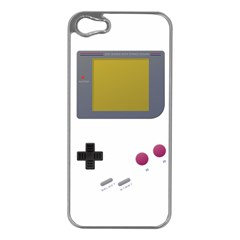 Handheld Gaming Apple Iphone 5 Case (silver) by Contest1775858a