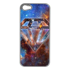 Cosmic Diamond Apple Iphone 5 Case (silver) by Contest1775858a