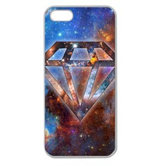 Cosmic Diamond Apple Seamless Iphone 5 Case (clear) by Contest1775858a