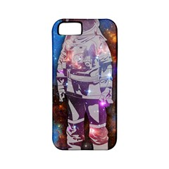 The Astronaut Apple Iphone 5 Classic Hardshell Case (pc+silicone) by Contest1775858a