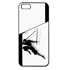 Slice Apple Iphone 5 Seamless Case (black) by Contest1732468