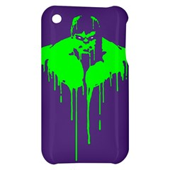 Incredible green Apple iPhone 3G/3GS Hardshell Case by Contest1769124