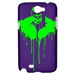 Incredible green Samsung Galaxy Note 2 Hardshell Case by Contest1769124