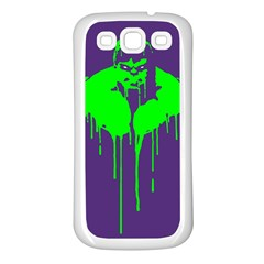 Incredible Green Samsung Galaxy S3 Back Case (white)