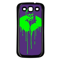 Incredible green Samsung Galaxy S3 Back Case (Black) by Contest1769124
