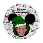 Minnie  Ornament, 2 sides - Round Ornament (Two Sides)