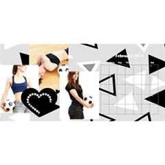 Calendar By C1   Desktop Calendar 11  X 5    3khfcck4k0dt   Www Artscow Com Feb 2014