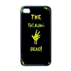 The Talking Dead Apple Iphone 4 Case (black) by TheTalkingDead