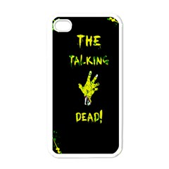 The Talking Dead Apple Iphone 4 Case (white) by TheTalkingDead