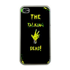 The Talking Dead Apple Iphone 4 Case (clear) by TheTalkingDead