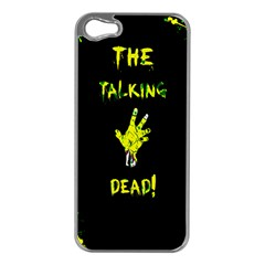 The Talking Dead Apple Iphone 5 Case (silver) by TheTalkingDead