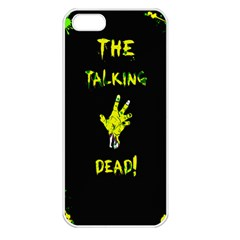 The Talking Dead Apple Iphone 5 Seamless Case (white) by TheTalkingDead