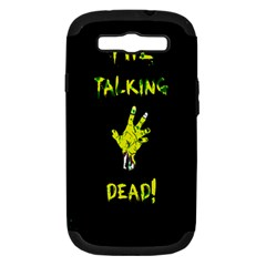 The Talking Dead Samsung Galaxy S Iii Hardshell Case (pc+silicone) by TheTalkingDead