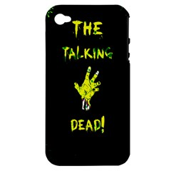 The Talking Dead Apple Iphone 4/4s Hardshell Case (pc+silicone) by TheTalkingDead