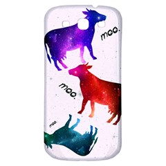 Cowcow   Cow  Samsung Galaxy S3 S Iii Classic Hardshell Back Case