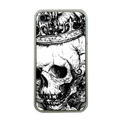 Skull King Apple Iphone 4 Case (clear) by TheTalkingDead