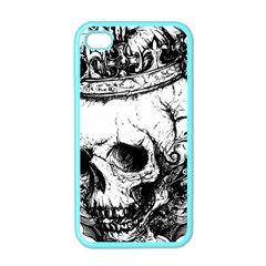 Skull King Apple Iphone 4 Case (color) by TheTalkingDead
