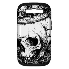 Skull King Samsung Galaxy S Iii Hardshell Case (pc+silicone) by TheTalkingDead