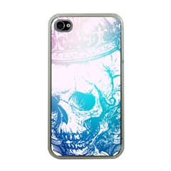 Skull King Colors Apple Iphone 4 Case (clear)