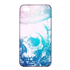 Skull King Colors Apple Iphone 4/4s Seamless Case (black) by TheTalkingDead
