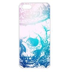 Skull King Colors Apple Iphone 5 Seamless Case (white) by TheTalkingDead