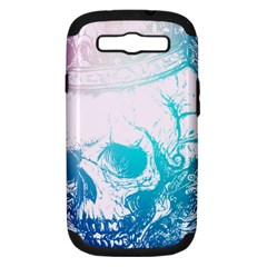 Skull King Colors Samsung Galaxy S Iii Hardshell Case (pc+silicone) by TheTalkingDead