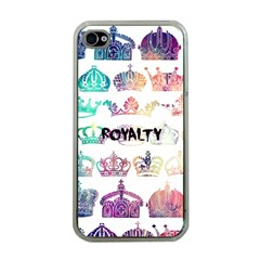Royalty Apple Iphone 4 Case (clear)
