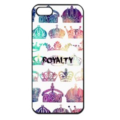 Royalty Apple Iphone 5 Seamless Case (black)