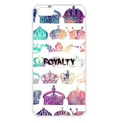 Royalty Apple Iphone 5 Seamless Case (white) by TheTalkingDead