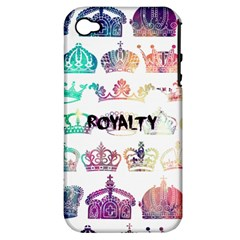 Royalty Apple Iphone 4/4s Hardshell Case (pc+silicone) by TheTalkingDead