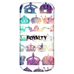 Royalty Samsung Galaxy S3 S Iii Classic Hardshell Back Case by TheTalkingDead