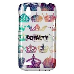 royalty HTC T328W (Desire V) Case by TheTalkingDead