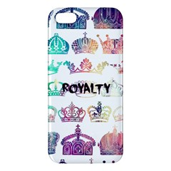 Royalty Iphone 5s Premium Hardshell Case by TheTalkingDead