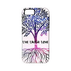 Tree Of Live Laugh Love  Apple Iphone 5 Classic Hardshell Case (pc+silicone)